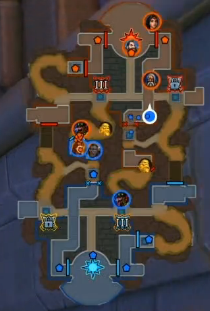 Mine Carts being shown on the minimap